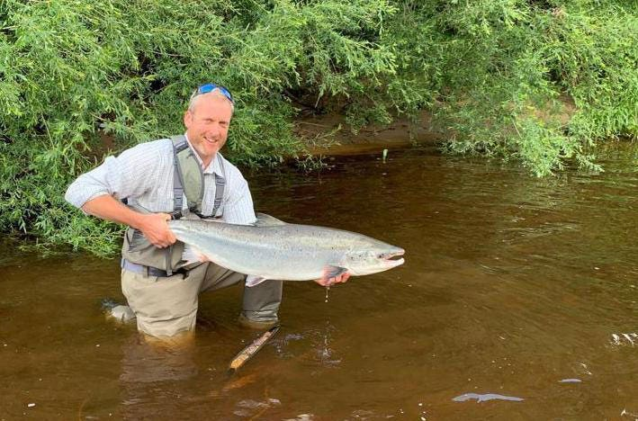 A salmon entered into the Charles Farlow Trophy