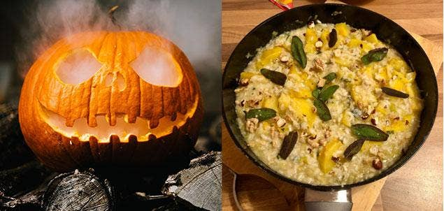 A pumpkin is for life, not just for Halloween