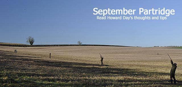 Embrace The September Partridge Shooting Season
