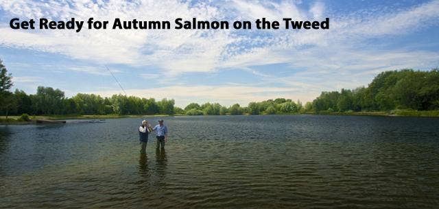 Autumn Salmon Fishing Course on the River Tweed