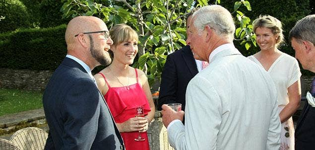 Farlows and HRH The Prince of Wales