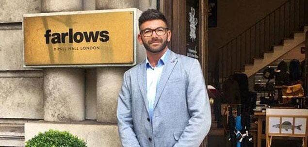 Ed Solomons Joins the Farlows Team