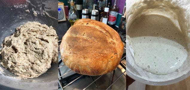 Get Ahead with Bread - Ian's Bread Baking Recipes