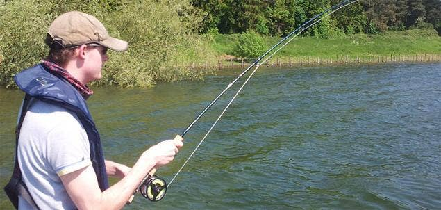 Hardy Proaxis Rod 9ft #9 for Pike Fishing