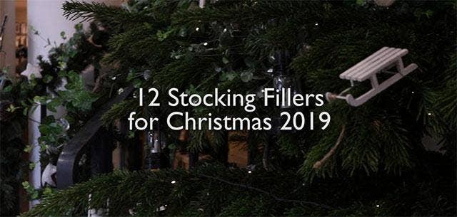 12 Top Stocking Filler Gift Ideas for Christmas 2019