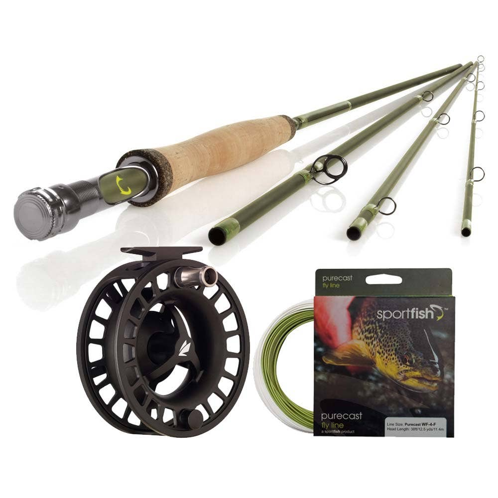 Sportfish Purecast Kit Trout Fly Fishing Outfits Farlows