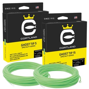 Cortland Precision Clear Ghost Sink Tip Fly Line