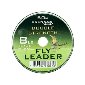 Drennan Double Strength Copolymer Fly Leader & Tippet