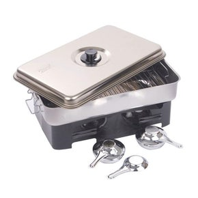 Stainless Steel Smoker with 2 Burners