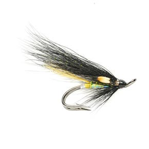 Fulling Mill Stoat's Tail Pearl Salmon Double