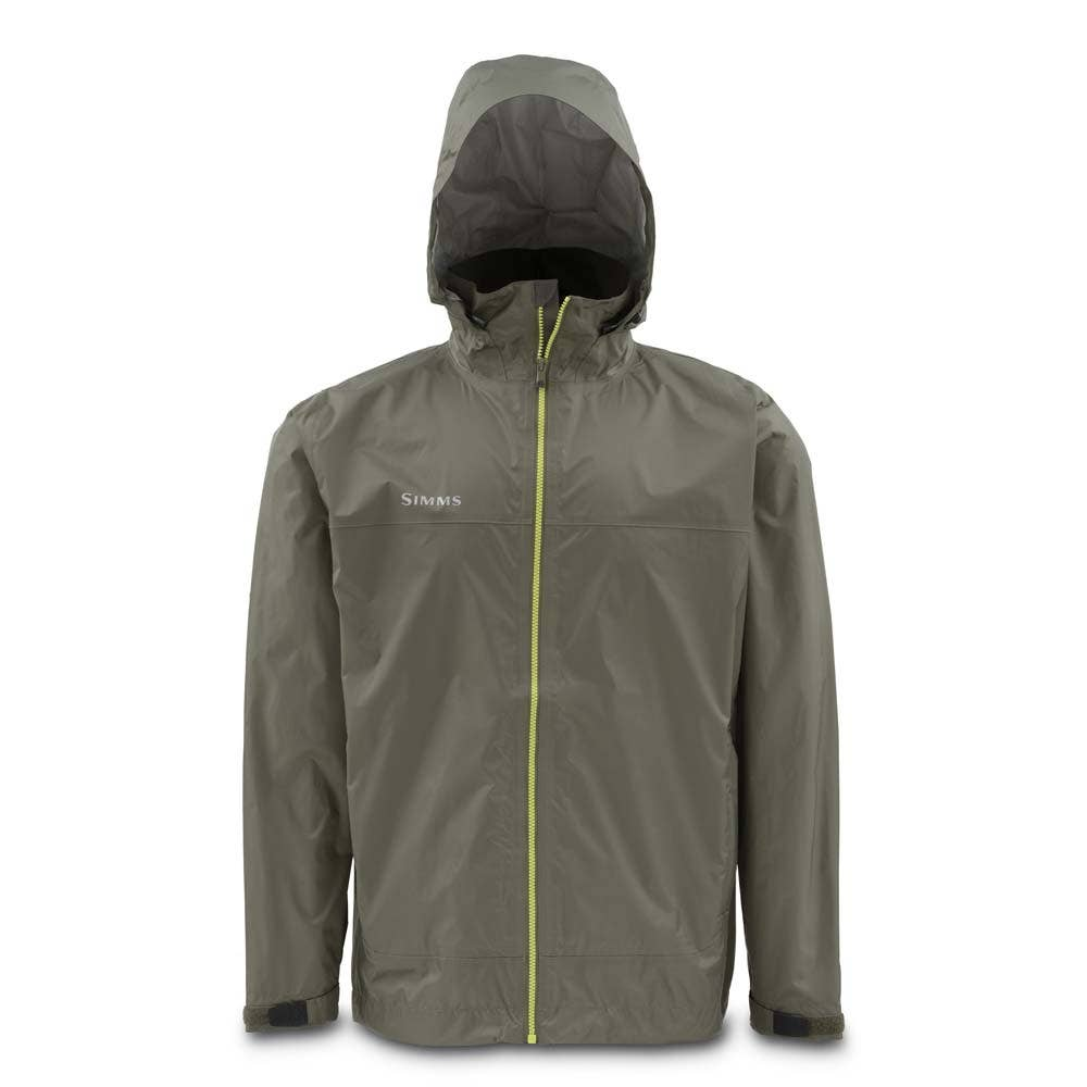 Simms hyalite rain shell fishing jacket waterproof for Waterproof fishing jacket