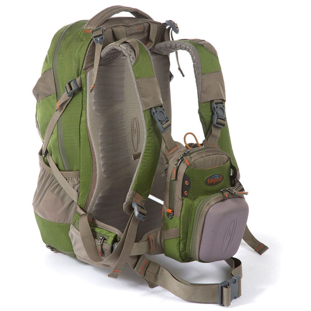Fishpond bitch creek backpack fishing backpacks farlows for Fly fishing backpack