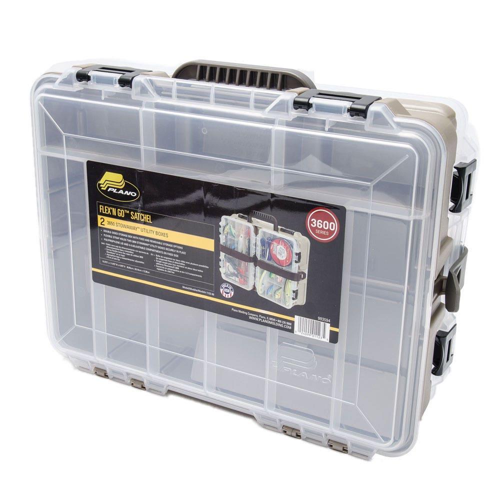 Plano flex 39 n 39 go satchel tackle box for Plano fishing box