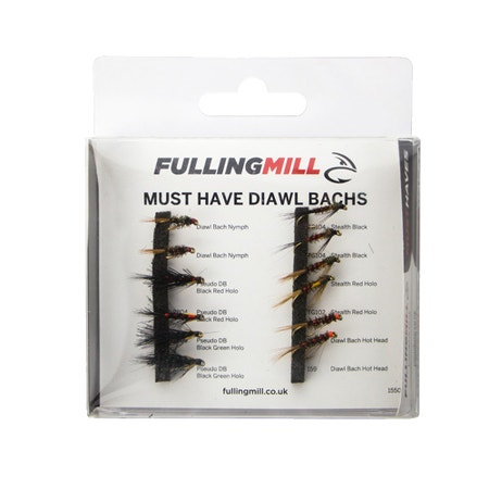 Fulling Mill Must Have Diawl Bachs Fly Set