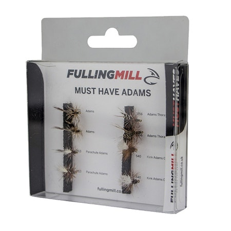 Fulling Mill Must Have Adams Fly Set