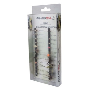 Fulling Mill Premium Selection Chalkstream Fly Set