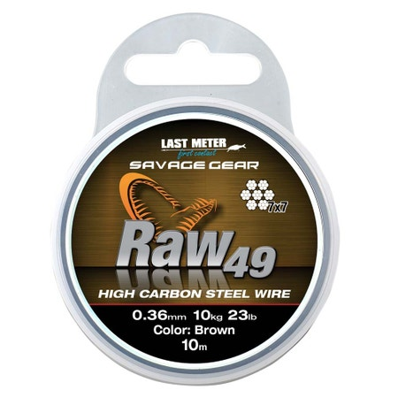 Savage Gear Raw 49-Strand Knotable Wire