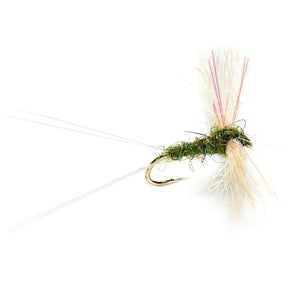 Fulling Mill Snow Show Olive Dry Fly