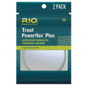 RIO Powerflex Plus Trout Leaders (2 Pack)