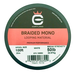 Cortland Braided Mono Looping Material