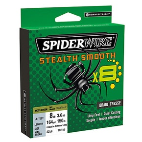 SpiderWire Stealth Smooth 8 Braided Fishing Line