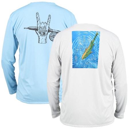 Simms Solar Tech Long Sleeve T-Shirt - River Collection