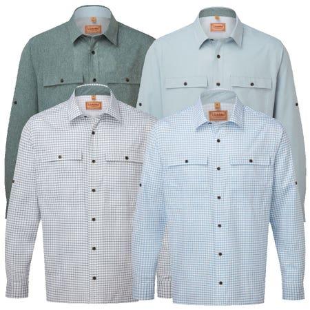 Schoffel Findhorn Technical Fishing Shirt