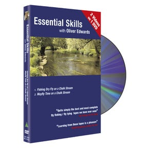 Essential Skills DVD 3 with Oliver Edwards Dry Fly Fishing on Chalk Stream / Mayfly Time on a Chalk Stream