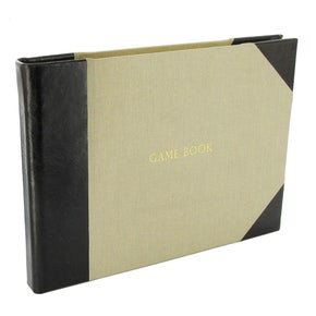 Farlows Half Bound Leather Game Register