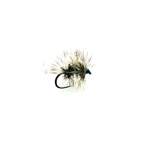 Fulling Mill Hackled Dry Griffiths Sparkle Gnat BL