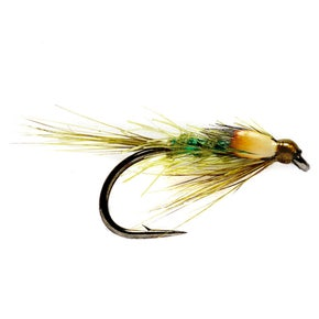 DB Olive Green Holographic Nymph