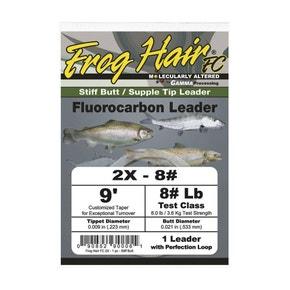 Frog Hair Fluorocarbon Leaders