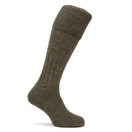 Farlows The Gamekeeper Derby Tweed Shooting Socks