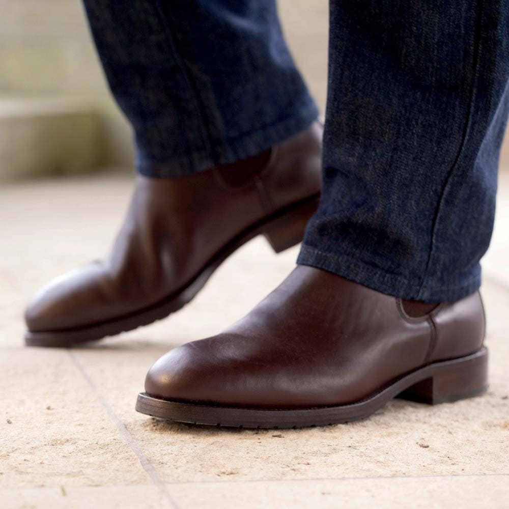 Dubarry Kerry Leather Boots Mahogany Mens Leather