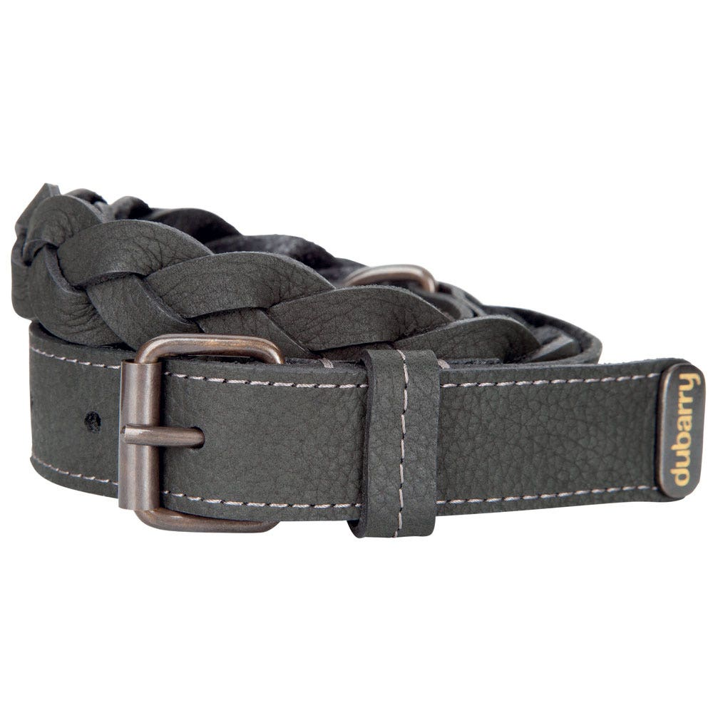 dubarry donmore plaited leather belt farlows