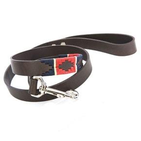 Pioneros Red/Navy/Cream Stripe Dog Lead