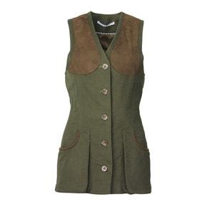 Laksen Loden Lady Broadland Moleskin Shooting Vest