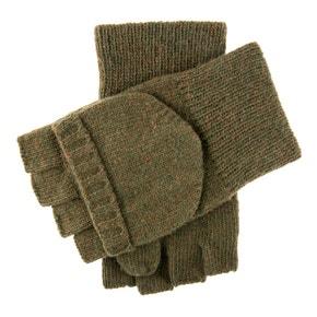 Dents Glock Capmitt 1/2 Finger Lambswool Shooting Glove