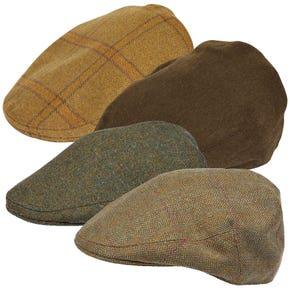 Farlows Classic Tweed Flat Cap