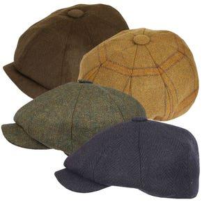 Farlows Classic 8 Piece Tweed Hat