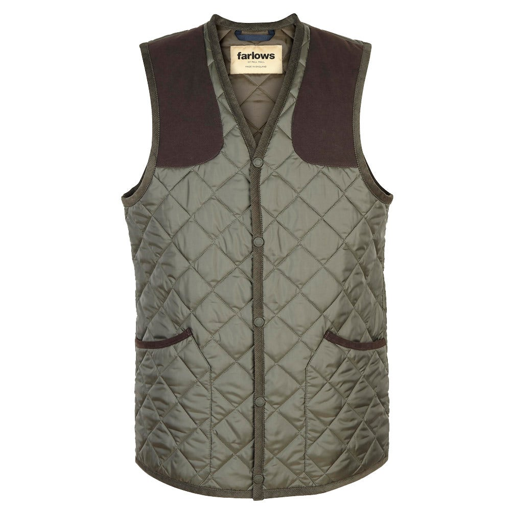 Farlows Quilted Shooting Vest Farlows