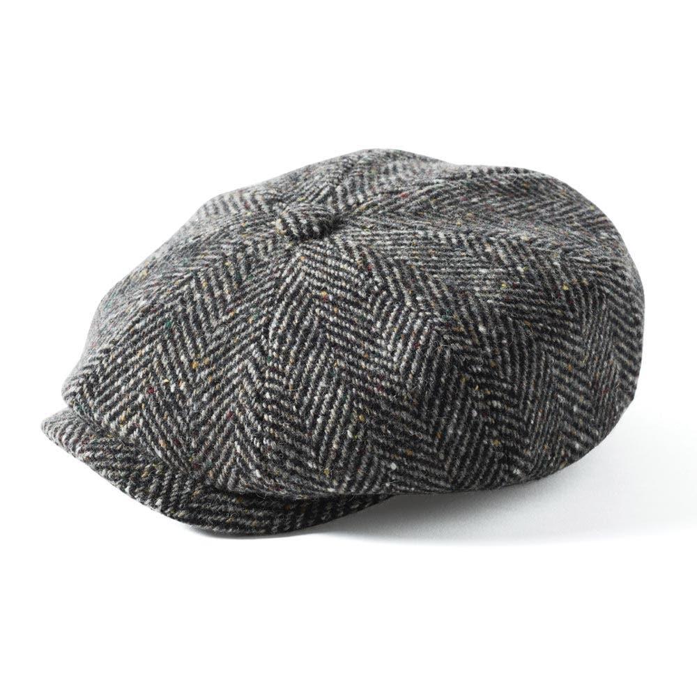 1bff52cde77 ... Failsworth Donegal Mayo Tweed Cap. Grey