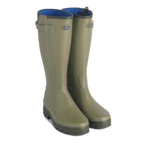 Le Chameau Chasseur Neoprene Full Zip Wellington Boots