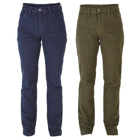 Farlows Ladies Moleskin Stretch Jeans