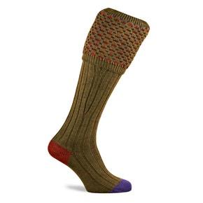 Farlows Ambassador Small Geometric Shooting Socks