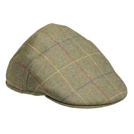 Laksen Woodhay Balmoral Tweed Cap