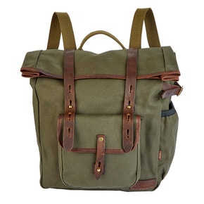 Farlows Canvas Roll-Top Backpack