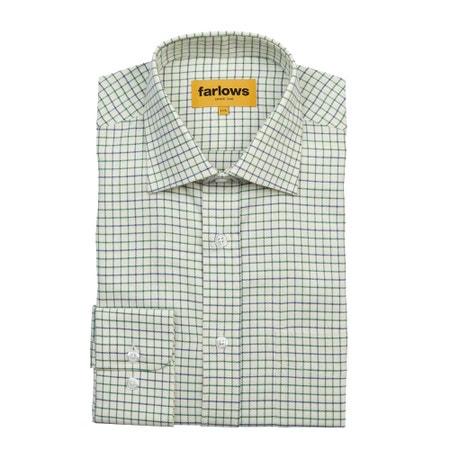 Farlows Medium Tattersall Check Shirt