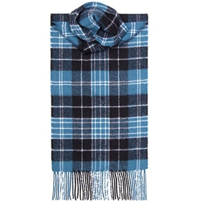 Farlows Ancient Check Lambswool Scarf