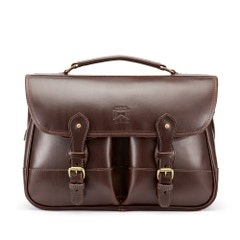 Tusting Leather Clipper Bag